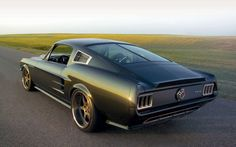 Modified '67 Mustang Fastback
