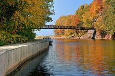 Black River Harbor bridge in Gogebic County.