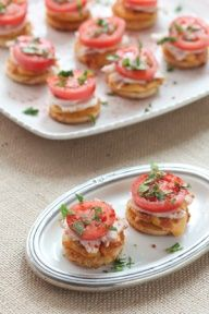 Mini Hot Browns  great for a Kentucky Derby party #spring #kentuckyderby