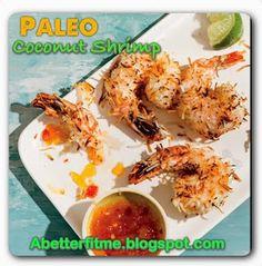 A Better Fit Me: Paleo Coconut Shrimp