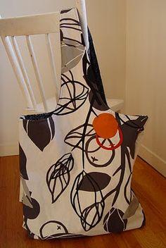 The Two Pillowcase Bag - a Tutorial