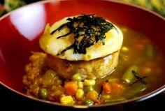 Healthier Curry Loco Moco glorious food, hawaiian food, dat food, food addict, curri loco, curries, loco moco
