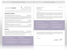 CV and cover letter: I love the Cover letter layout