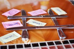 What a great idea!  A tic tac toe game to entertain your children at a restaurant!