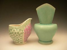 contemporari ceram, cl potteri, clay, neil, beauti potteri
