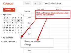 Teachers' Visual Guide to Using Google Calendar ~ Educational Technology and Mobile Learning