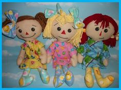 Snowdrop Patterns - Rag Doll and Critter Sewing Patterns: Rag Doll Sewing Patterns