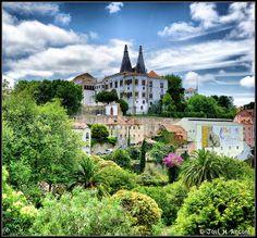 Sintra (Portugal). Palacio Nacional. by josemazcona, via Flickr