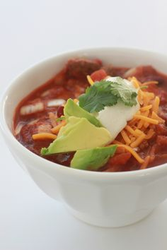 Jimmy Fallon's Crock-Pot Chili Recipe. I read the ingredients. This is ...