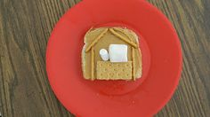 Edible Nativity Kids Christmas Craft This is a super good idea for my Sunday School children!