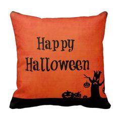 Halloween Throw Pillows #Halloween #pillows #decor