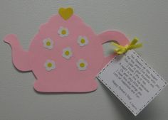 Mother's Day glyph with poem and creative writing sheet
