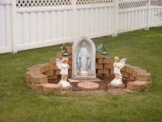 Mary Grotto for Garden Back Yard | Marie's Marché: Blessed Mary Garden