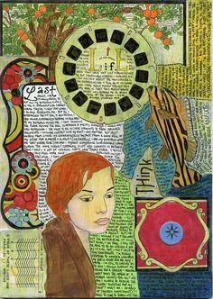 Development ~ artist AnicaAnscott, who has a lovely Flickr photostream of her journal #journal