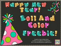 Happy New Year roll and color freebies!!!