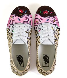 5 Second Rule - Custom Shoes by Carl Floyd Medley III, via Behance