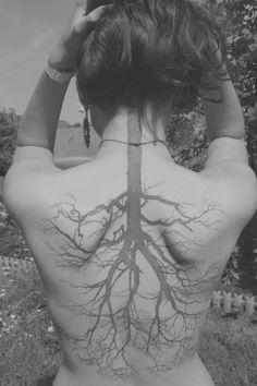 tree tattoo roots