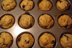The Newfangled Housewife: Banana Bluberry Muffins