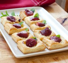 Easy Party Dessert Recipe: Roasted Strawberry Goat Cheese Squares Recipes from The Kitchn