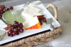 tips to create the perfect cheese plate {and how to store them}