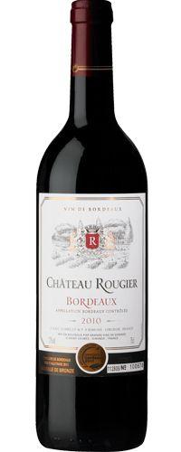 Chateau Rougier  Bordeaux  2010