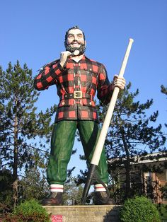 Ask anyone from Maine and they'll tell you, Paul Bunyan is from Bangor not Minnesota.