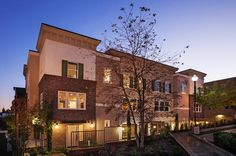 Sleek, contemporary design and open floorplans meet laid-back California charm in these newly built townhomes. Village Walk by The Olson Company in San Dimas, CA.