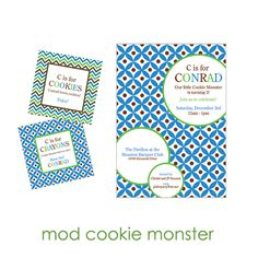 cookie monster party goods