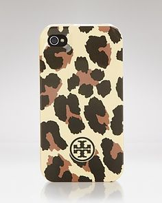 Tory Burch iPhone Case - Leopard