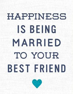 'Married to Your Best Friend' Print