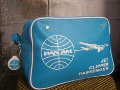 pan am bag - jet clipper passenger