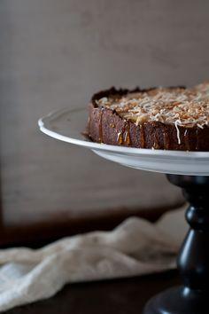Black-Bottom Coconut Cream Tart