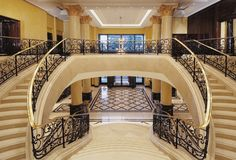 Lobby Staircase @ The Ritz-Carlton Berlin