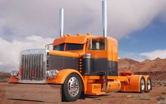 """American Custom Big Rigs - Tricked out Truck Photographs - MATS 2008 - Roger Snider's """"Ultra Rigs of the World"""" big truck, big rigs, orang, big rig trucks, carmotorcyclebig rig, custom big, big rigz, semi truck, american custom"""