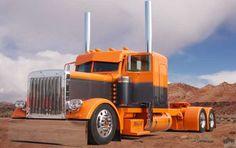 big truck, big rigs, orang, big rig trucks, carmotorcyclebig rig, custom big, big rigz, semi truck, american custom
