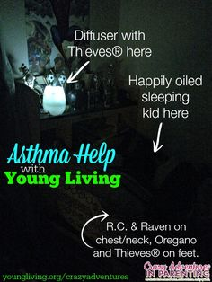 Asthma Help with Young Living Oils | http://crazyadventuresinparenting.com/2014/03/asthma-help-with-young-living-oils.html