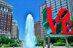 LOVE Park in Philadelphia (Photo by B. Krist for GPTMC)