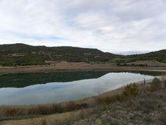 Un dels estanys del nucli d'Estanya. Benabarri, Ribagorça.