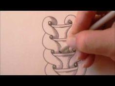 How to draw tanglepattern Kringel