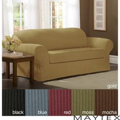 Maytex Collin 2-piece Sofa Slipcover