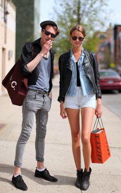 short, street fashion, alfaiat lisboeta, fashion styles, outfit, street styles, motorcycle jackets, street style fashion, street chic