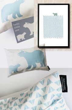 Luzelle has created a gorgeous new baby collection .. blue polar bears or pink sheep ... which one do you like best ... I am boys-mom so you prbaby understand why I choose the polar bear :) ... the patterns...