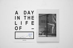 A day in the life of -