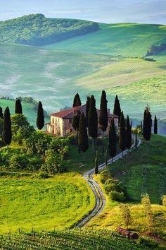 Tuscany, Italy - the best summer honeymoon destinations