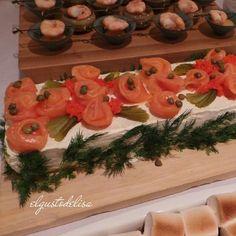 Smoked Salmon Cake | Recipe
