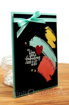 Stampin' Up! handmade card by ilinacrouse ..