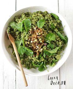 Green Quinoa #dinner #leftovers