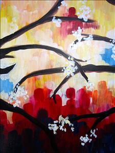 painting with a twist ideas on pinterest spring blossom