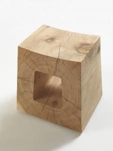 RIVA 1920 | Products | WOOD | NATURAL LIVING | KAURI | BRICCOLE - this site has some great solid wood stools...
