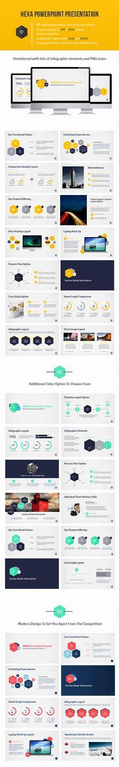 Powerpoint Presentation by Design District, via Behance